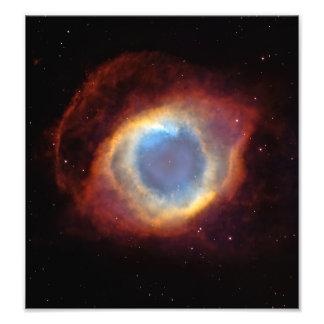 Helix Nebula (Hubble Telescope) Photograph