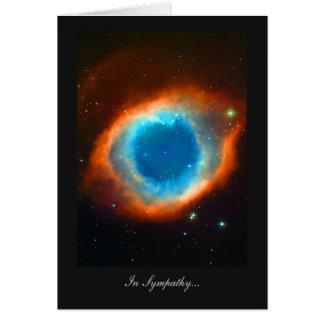 Helix Nebula In Sympathy Card