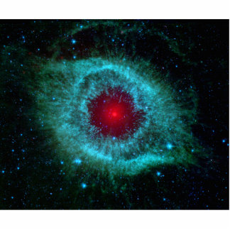 Helix Nebula Infrared Spitzer Acrylic Cut Out