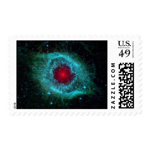 Helix Nebula Infrared Spitzer Stamps