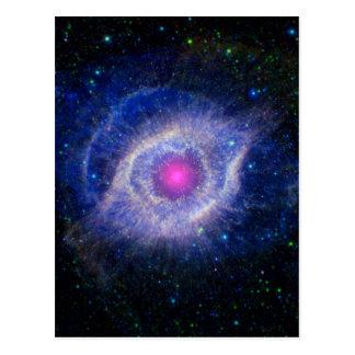 Helix Nebula NASA Purple Postcard