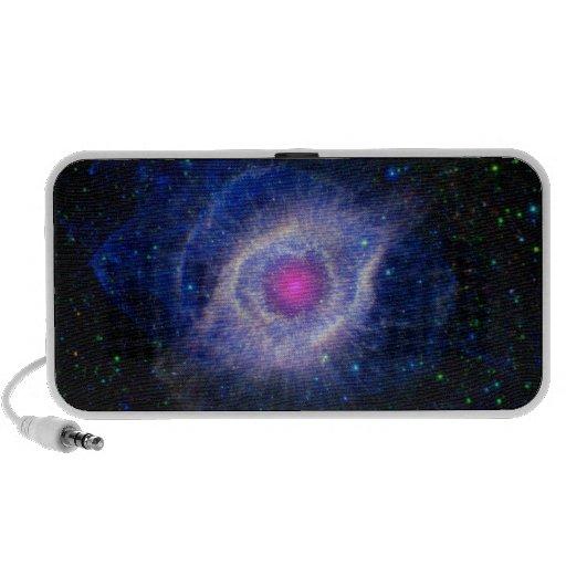 Helix Nebula NASA Purple Speaker