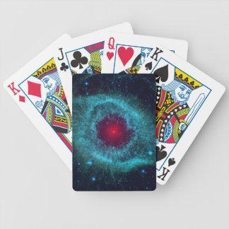 Helix Nebula Bicycle Poker Cards