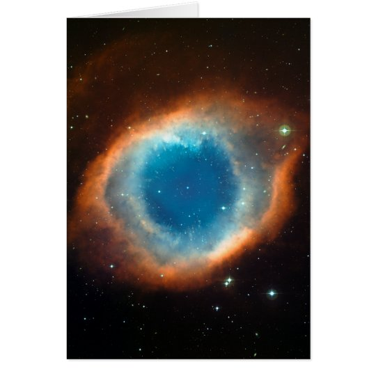 Helix Nebula Space Astronomy Card