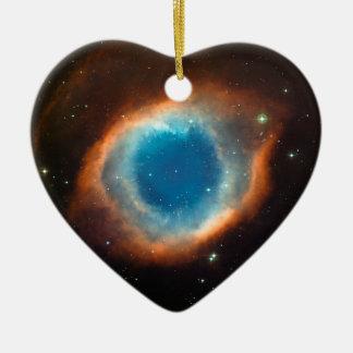 Helix Nebula Space Astronomy Ceramic Ornament