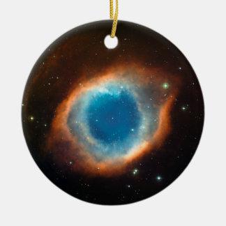 Helix Nebula Space Astronomy Christmas Ornaments