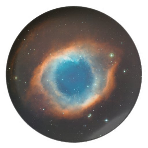 Helix Nebula Space Astronomy Party Plates