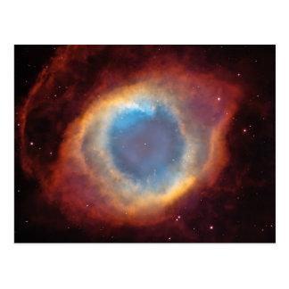 Helix Nebula Space Photo Postcards
