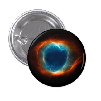 Helix Nebula Star Space Cloud 1 Inch Round Button