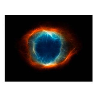 Helix Nebula Star Space Cloud Postcard
