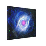Helix Nebula Ultraviolet Canvas Print