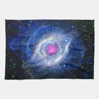 Helix Nebula Ultraviolet Eye of God Space Photo Towel