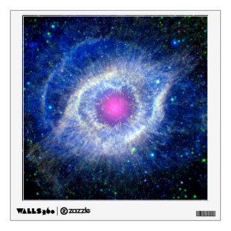 Helix Nebula Ultraviolet Eye of God Space Photo Wall Sticker