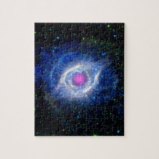 Helix Nebula Ultraviolet Jigsaw Puzzle