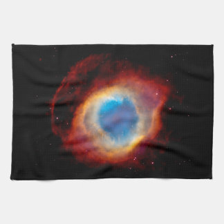 Helix Planetary Nebula NGC 7293 - Eye of God Hand Towel