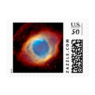 Helix Planetary Nebula NGC 7293 - Eye of God Postage