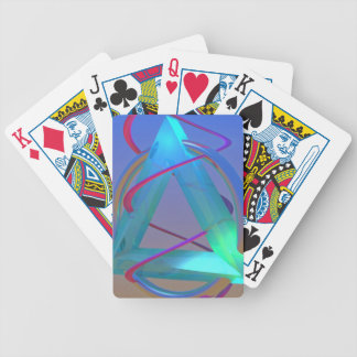 Helix Stretch Bicycle Playing Cards