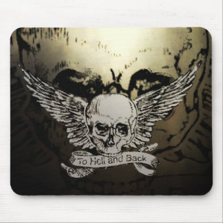 Hell and Back Mouse Pad