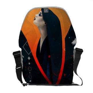 Hell Angel Messenger Bag