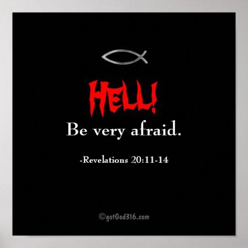 Be Very Afraid: Hell! Be Very Afraid GotGod316.com Poster