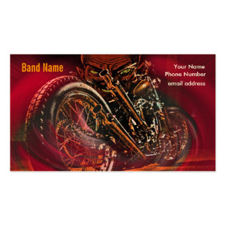 Hell Bent For Leather Business Card Templates