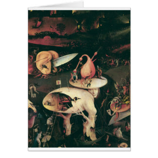 hell by hieronymus bosch card