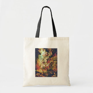 Hell Fall Of The Damned By Rubens Peter Paul Canvas Bags