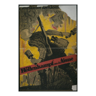 Hell Fight on the Aisne Poster
