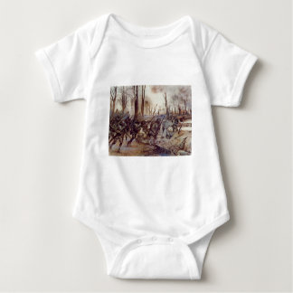 Hell Fighters from Harlem by H Charles McBarron Jr Baby Bodysuit