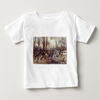 Hell Fighters from Harlem by H Charles McBarron Jr Baby T-Shirt