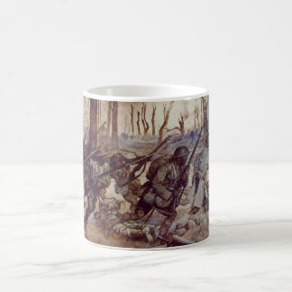 Hell Fighters from Harlem by H Charles McBarron Jr Coffee Mug