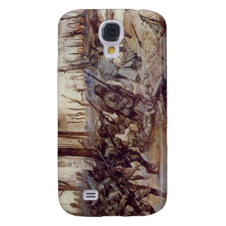 Hell Fighters from Harlem by H Charles McBarron Jr Samsung S4 Case