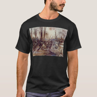 Hell Fighters from Harlem by H Charles McBarron Jr T-Shirt
