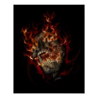 Hell Fire 16x20 Poster