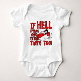 Hell Freezes Over Baby Bodysuit