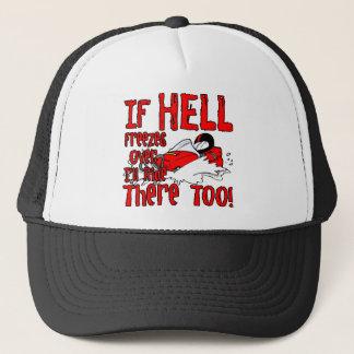 Hell Freezes Over Trucker Hat
