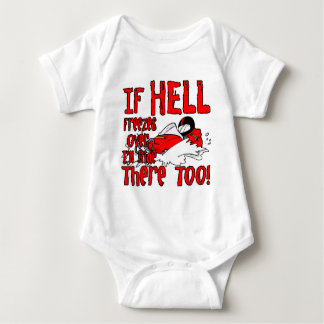 Hell Freezes Over Tee Shirts