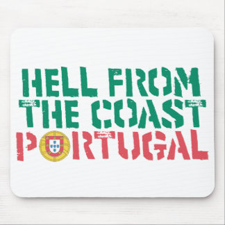 Hell from the coast Portugal Futbol Soccer Mouse Pad