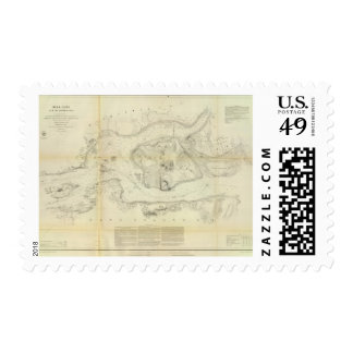 Hell Gate & approaches Postage Stamps