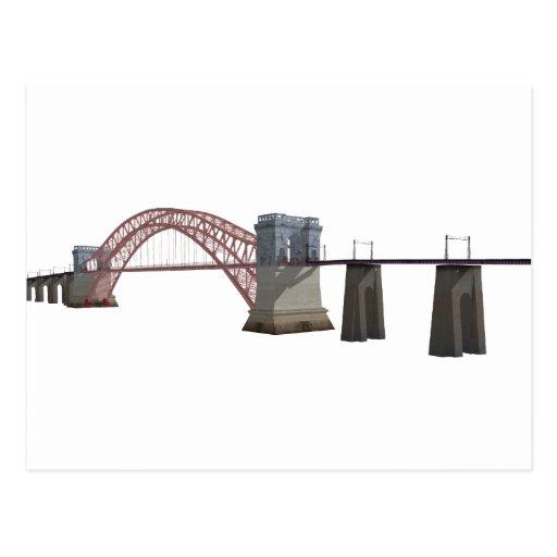 Hell Gate Bridge: 3D Model: Post Cards