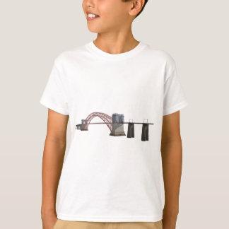 Hell Gate Bridge: 3D Model: T-Shirt