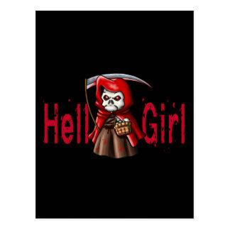 Hell Girl Postcard