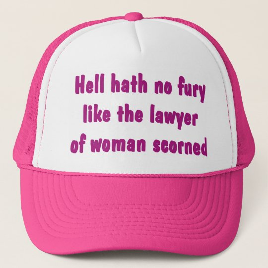 Hell Hath No Fury Lawyer Hat