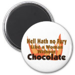 Hell Hath No Fury Magnets