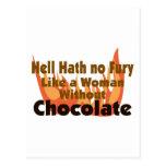 Hell Hath No Fury Post Card