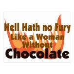 Hell Hath No Fury Postcard