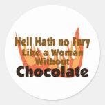 Hell Hath No Fury Sticker