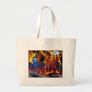 Hell Hath No Vacancies Funny Gifts Tees Mugs Etc Large Tote Bag