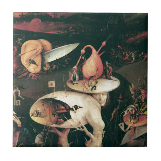 Hell. Hieronympous Bosch. 1503-1504 Ceramic Tile