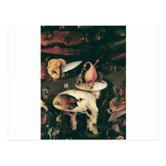 Hell. Hieronympous Bosch. 1503-1504 Postcard